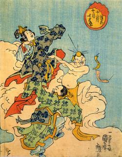 Kuniyoshi_tanabata